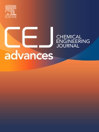 Cover image for Chemical Engineering Journal Advances