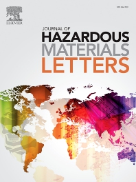 Cover image for Journal of Hazardous Materials Letters