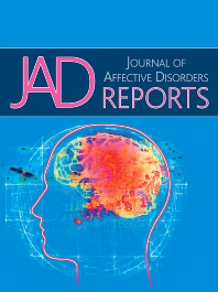 Cover image for Journal of Affective Disorders Reports