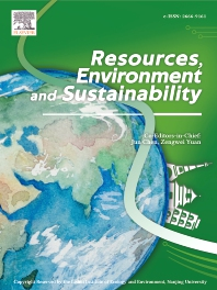 Cover image for Resources, Environment and Sustainability