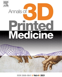 Cover image for Annals of 3D Printed Medicine