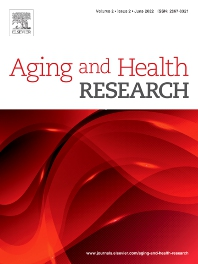Cover image for Aging and Health Research