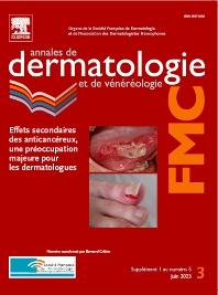Cover image for Annales de Dermatologie et de Vénéréologie - FMC
