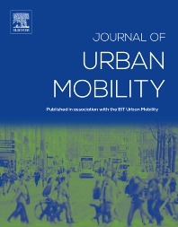 Cover image for Journal of Urban Mobility