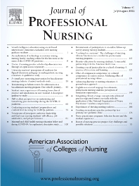 Cover image for Journal of Professional Nursing