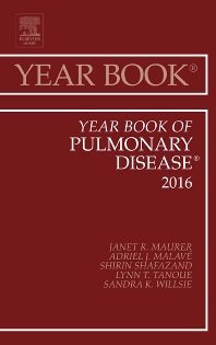 Cover image for Year Book of Pulmonary Disease