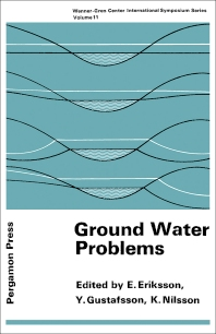 Ground Water Problems - 1st Edition - ISBN: 9780080034683, 9781483160085