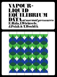 Cover image for Vapour–Liquid Equilibrium Data at Normal Pressures