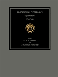 Educational Electronics Equipment 1967–68 - 1st Edition - ISBN: 9780080035666, 9781483184142