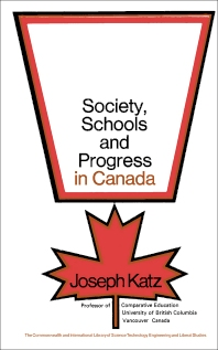 Society, Schools and Progress in Canada