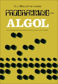 Programming — ALGOL - 1st Edition - ISBN: 9780080063843, 9781483180427
