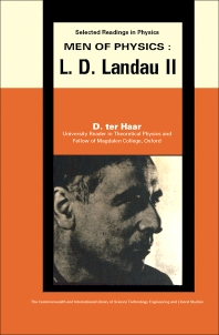 Men of Physics: L.D. Landau - 1st Edition - ISBN: 9780080064512, 9781483153827