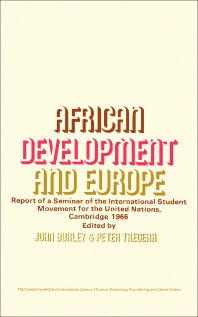 African Development and Europe - 1st Edition - ISBN: 9780080066691, 9781483151052