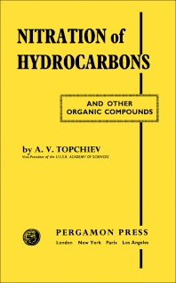 Nitration of Hydrocarbons and Other Organic Compounds - 1st Edition - ISBN: 9780080091549, 9781483184388