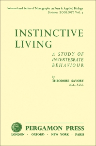 Instinctive Living - 1st Edition - ISBN: 9780080092539, 9781483184449
