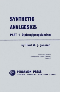 Synthetic Analgesics - 1st Edition - ISBN: 9780080093109, 9781483152172