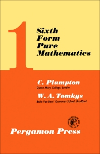 Sixth Form Pure Mathematics - 2nd Edition - ISBN: 9780080093741, 9781483137193