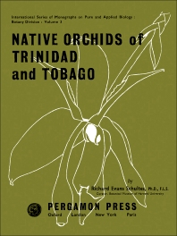 Cover image for Native Orchids of Trinidad and Tobago