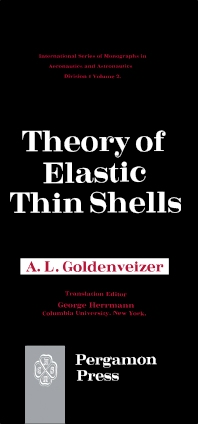 Theory of Elastic Thin Shells - 1st Edition - ISBN: 9780080095615, 9781483164625