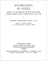 Cover image for Hydrogen in Steel