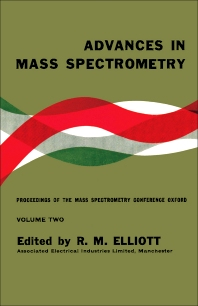 Advances in Mass Spectrometry - 1st Edition - ISBN: 9780080097756, 9781483149448