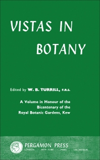 Vistas in Botany - 1st Edition - ISBN: 9780080098494, 9781483153391