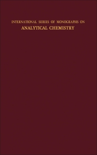 Analytical Chemistry of the Actinide Elements - 1st Edition - ISBN: 9780080099156, 9781483149318