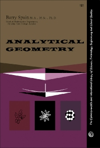 Analytical Geometry - 1st Edition - ISBN: 9780080099736, 9781483180571
