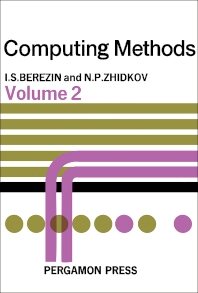 Computing Methods - 1st Edition - ISBN: 9780080100111, 9781483152295