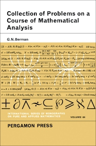 Cover image for A Collection of Problems on a Course of Mathematical Analysis