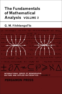 Cover image for The Fundamentals of Mathematical Analysis