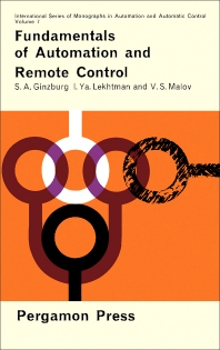 Fundamentals of Automation and Remote Control - 1st Edition - ISBN: 9780080100722, 9781483156781