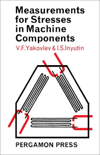 Cover image for Measurements for Stresses in Machine Components