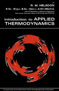 Introduction to Applied Thermodynamics - 1st Edition - ISBN: 9780080105048, 9781483149622
