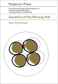 Genetics of the Norway Rat - 1st Edition - ISBN: 9780080106649, 9781483185316