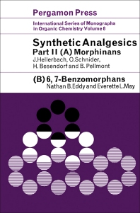 Synthetic Analgesics - 1st Edition - ISBN: 9780080108957, 9781483156286