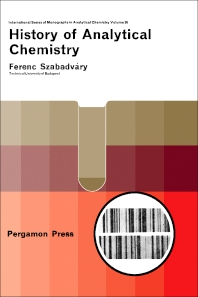 History of Analytical Chemistry - 1st Edition - ISBN: 9780080109800, 9781483157122