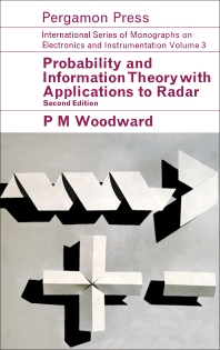 Cover image for Probability and Information Theory, with Applications to Radar