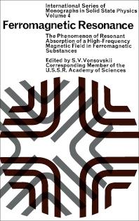 Ferromagnetic Resonance - 1st Edition - ISBN: 9780080110271, 9781483151489