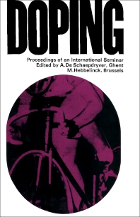 Doping - 1st Edition - ISBN: 9780080110462, 9781483151274