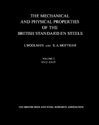 The Mechanical and Physical Properties of the British Standard EN Steels (B.S. 970 - 1955) - 1st Edition - ISBN: 9780080111674, 9781483157177
