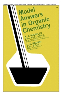 Model Answers in Organic Chemistry - 1st Edition - ISBN: 9780080111780, 9781483149363