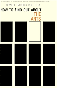 How to Find Out About the Arts - 1st Edition - ISBN: 9780080111889, 9781483138824