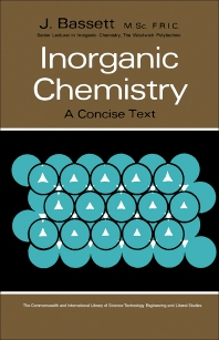 Inorganic Chemistry - 1st Edition - ISBN: 9780080112077, 9781483151229