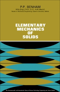Elementary Mechanics of Solids - 1st Edition - ISBN: 9780080112169, 9781483185569