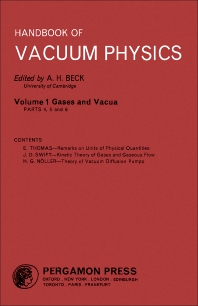Gases and Vacua - 1st Edition - ISBN: 9780080112978, 9781483180854