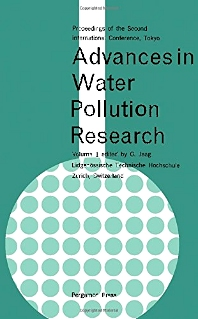 Cover image for Advances in Water Pollution Research
