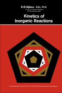Cover image for Kinetics of Inorganic Reactions