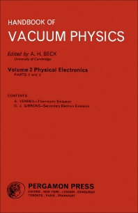 Physical Electronics - 1st Edition - ISBN: 9780080114699, 9781483180922