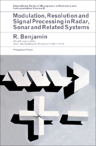 Modulation, Resolution and Signal Processing in Radar, Sonar and Related Systems - 1st Edition - ISBN: 9780080114774, 9781483185699